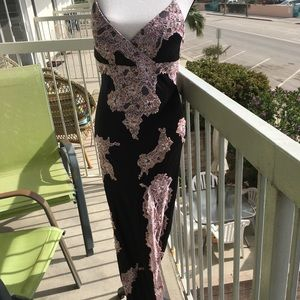 Evening gown by Sue Wong Silk size8